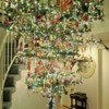 Beautifully Decorated Upside Down Christmas Tree