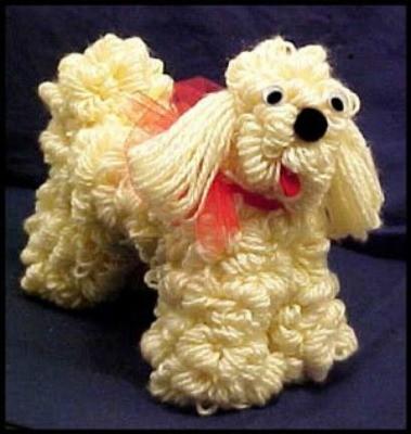 Making A Coat Hanger Yarn Dog Thriftyfun
