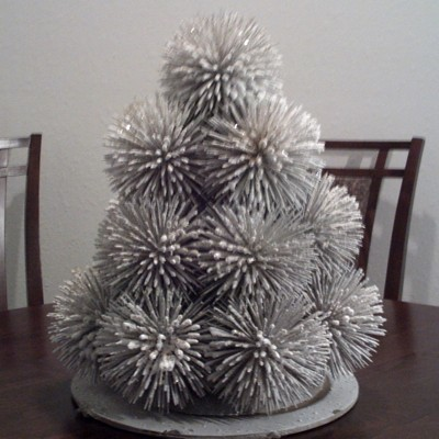 Christmas Tree Made With Toothpicks