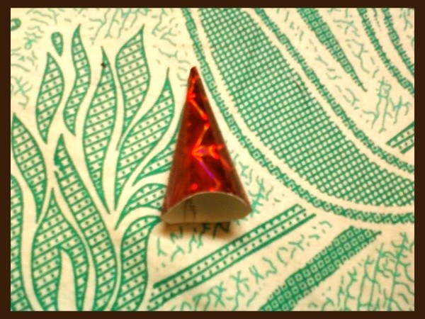 Gift Wrap Cone 2