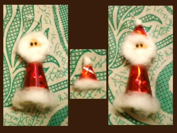 Santa Ornament 2