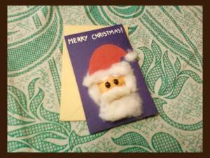 Santa Christmas Card Finished