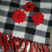Finished scarf.