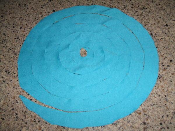 Blue T-shirt Spiral