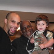 Three Generations of Moses Happy and Smiling Together