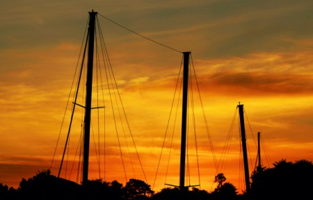 Sunset Sail, Bandon, OR