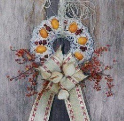 Bird wreath.