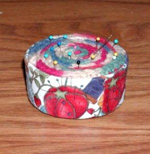 Tuna Can Pin Cushion