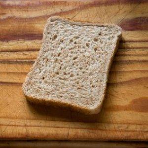 Recipes Using Stale Bread, Slice of Bread on Cutting Board