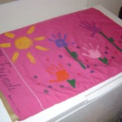 painted pillowcases