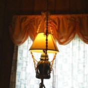 hanging table lamp