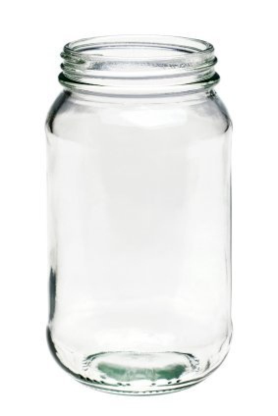 Fill Large Glass Jar