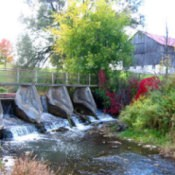 Mild May Dam in the Fall.