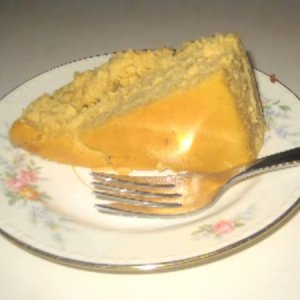 Piece of Pumpkin Cheesecake