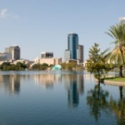 Vacationing in Orlando, Orlando Cityscape