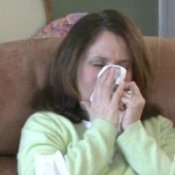 Preventing Colds and Flu, Woman Sneezing