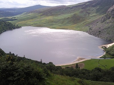 Lake in Ireland