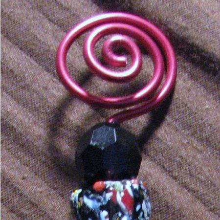 Closeup of spiral.