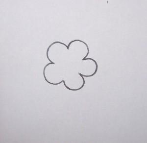 Pattern for flower.