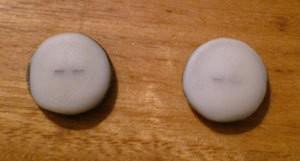 Vintage Button Earrings 2