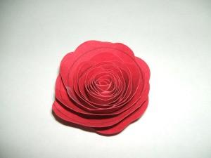 Finished rose.