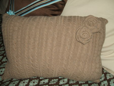 Finished pillow.