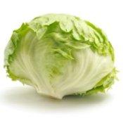 A head of lettuce.