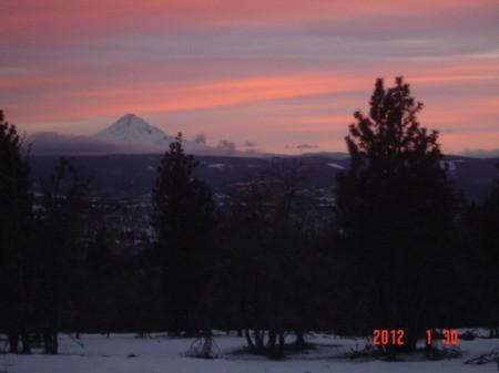 Scenery: Sunset (Lyle, WA)