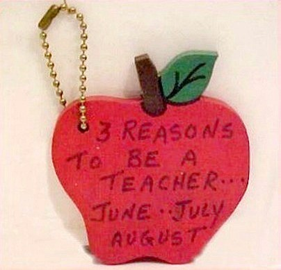 Apple keychain craft