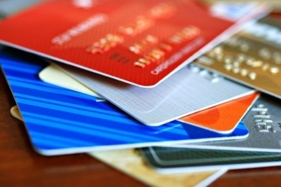 a stack of credit cards - Buy Prepaid Debit Card