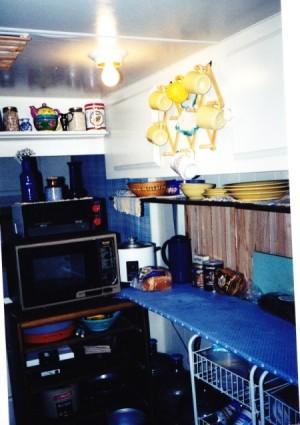 Alaska Renovation Microwave