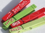 Use Clothespins To Protect Christmas Ornaments