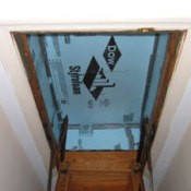 Hideaway Stairs Insulation