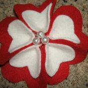 Heart Shaped Petal Flower