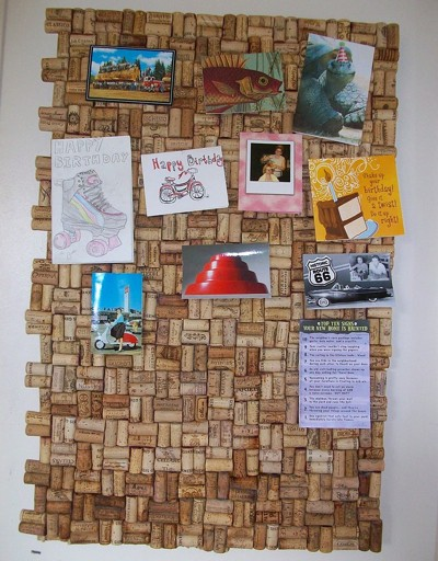 Recycled Wine Cork Board Thriftyfun