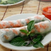 Vietnamese Spring Roll Recipes, Vietnamese Style Shrimp Roll