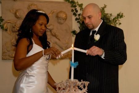 Unity Candle Ceremony (Belleza Wedding Chapel, Las Vegas, NV)