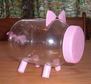 mayonnaise jar piggy bank thriftyfun