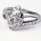 comtemperary wedding ring