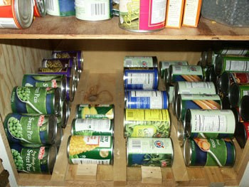 Organizing Canned Goods