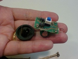 """Reusing Parts From A """"Shake"""" Flashlight - the leftover parts that didn't have an immediate use."""