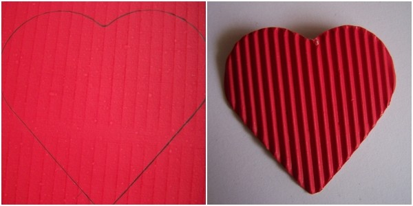 Red heart for body.