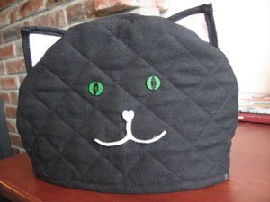 Cat teapot cozy.
