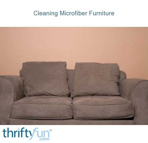 Awe Inspiring Cleaning Microfiber Furniture Thriftyfun Short Links Chair Design For Home Short Linksinfo