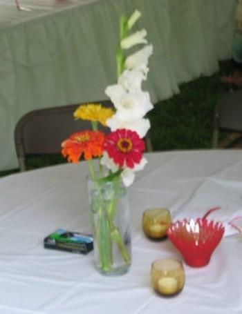 Local wedding flowers.