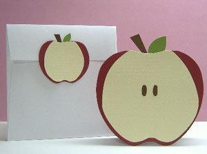 Apple card and envelope.
