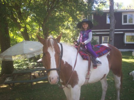 Horse Riding Lessons (Pelican Rapids, MN) - a young girl on horseback