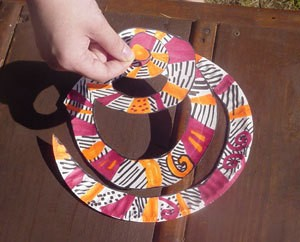 A spiral twirler for decoration made from a paper plate. : pinwheel paper plates - pezcame.com