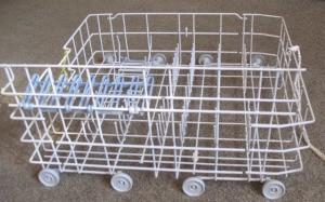 Lower dishwasher rack.