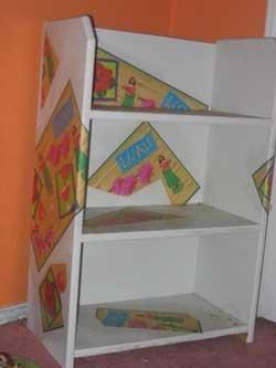 Modge Podge Designer Shelves